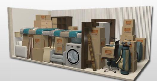 Storage Unit Sizes | FJ Dreams Self Storage